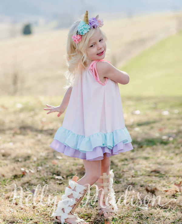 Unicorn Katie Dress