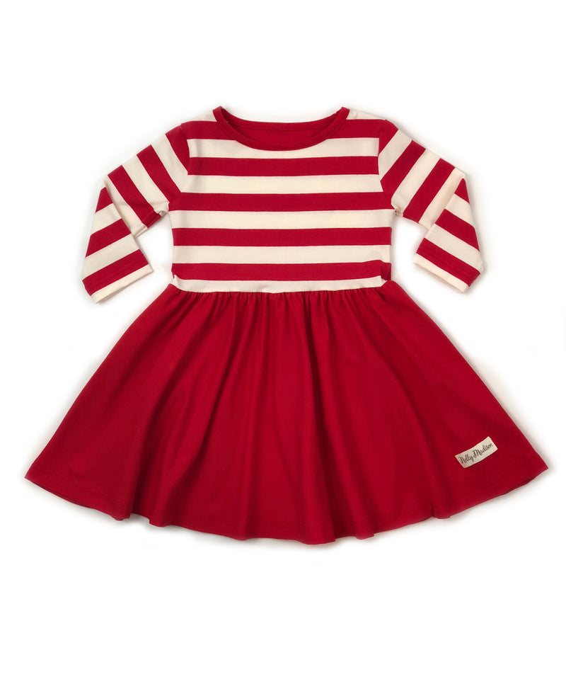 Candy Cane Laura Dress