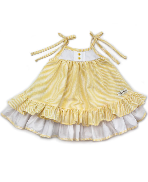 Lemon Cake Hannah Dress
