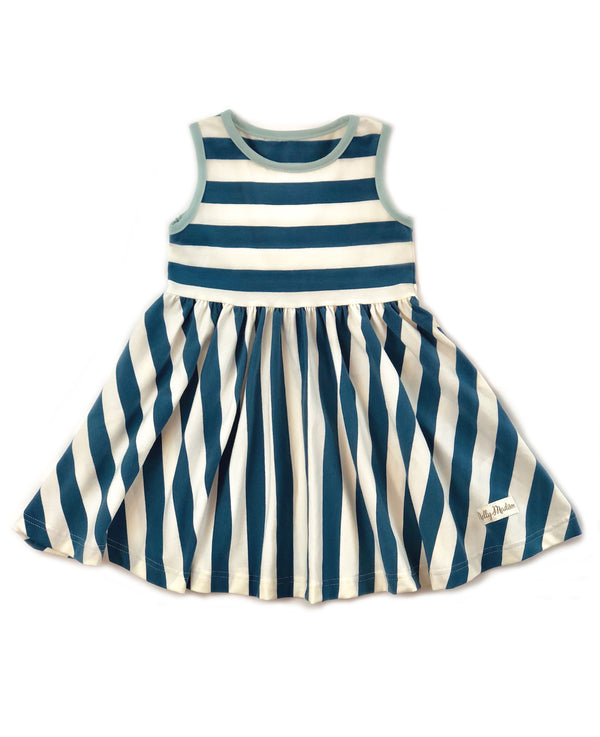 Blue Stripe Stella Dress