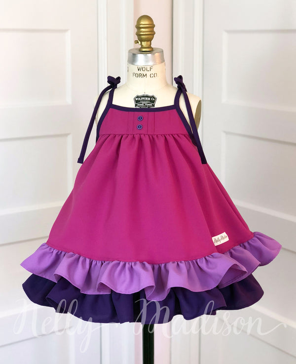 Pretty In Purple Hannah Dress