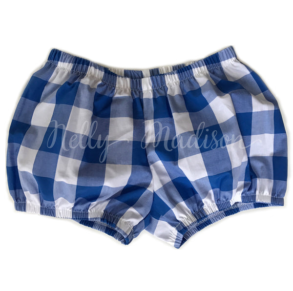 Royal Blue Check Dollies