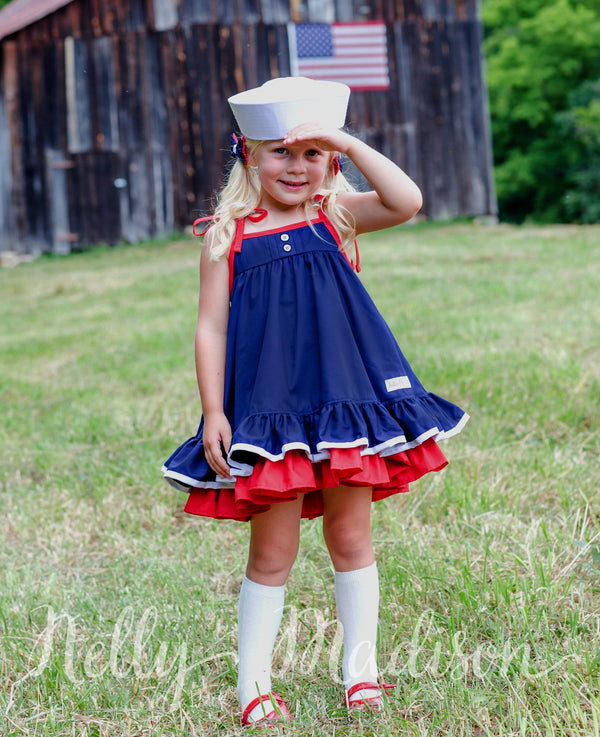 Sailor Girl Hannah Dress
