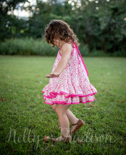Pink Tea Leaves Hannah Dress