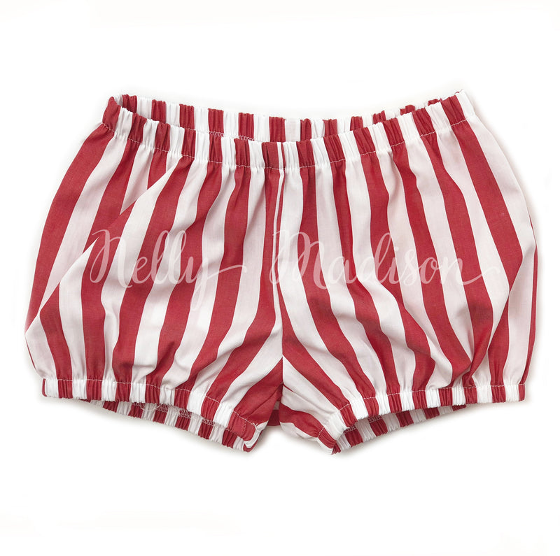 Red and White Striped Dollies