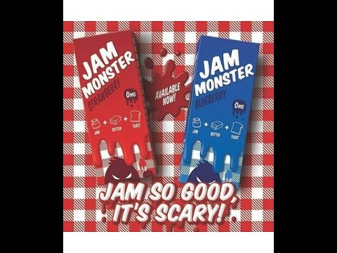 JAM MONSTER E LIQUID - 100ml