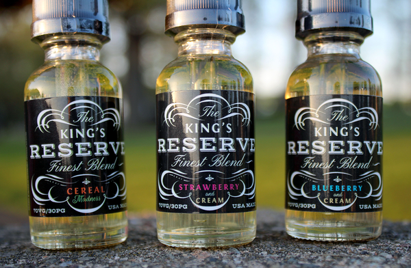 Kings Reserve - Blueberry and Cream 30ml (70/30)