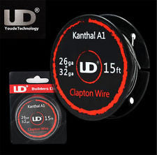 UD Builders Choice (15ft Roll) 26ga x 32ga Kanthal A1 Clapton Wire