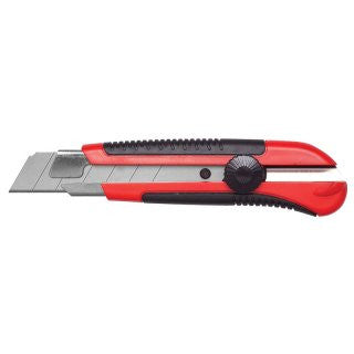 25mm Craft Knife; Red Rubber
