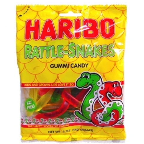 Haribo Bags Rattle-Snakes 5oz
