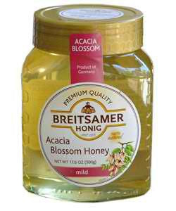 Breitsamer Acacia Honey 17.5oz