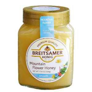 Breitsamer Mountain Flower Honey 17.5oz