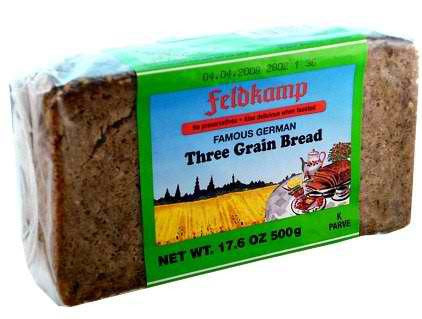 Delba/Feldkamp Breads 3-Grain Bread 16.75oz