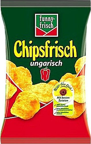 Funny Frisch Ungarisch Chips in Bag 6.1oz