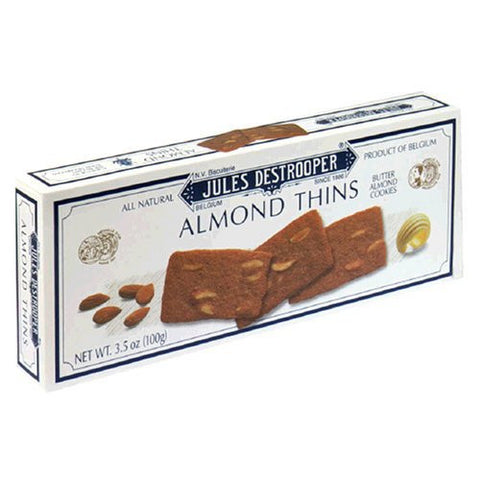Destrooper Almond Thins 12/3.5oz