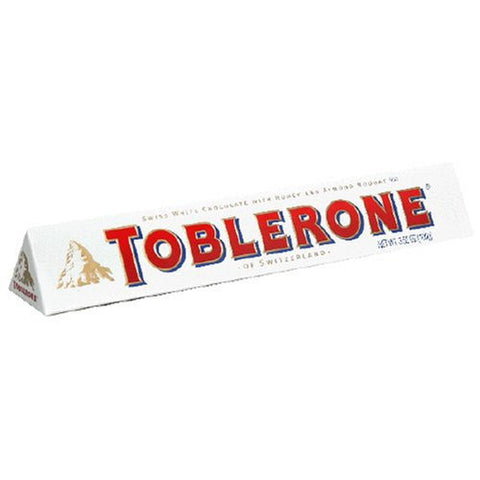 Toblerone Chocolate/White with Honey & Almond Nougat 20/3.52oz