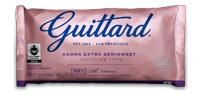 Guittard Chips Akoma Semisweet 12/12oz bags