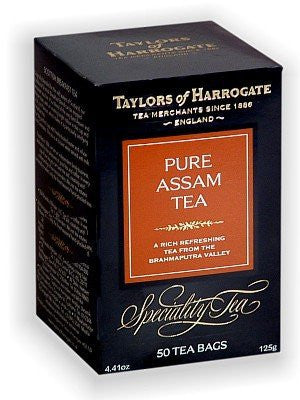 Taylors of H 50ct Bags Pure Assam 6pk