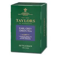 Taylors of H 50ct Bags Green Earl Grey