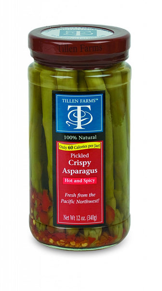 Tillen Farms Asparagus Hot Pickled Green - 6/12oz