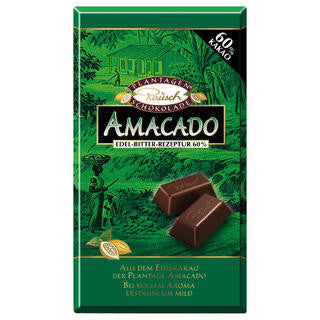 Rausch Chocolates Amacado Bar (60%) 12/3.5oz