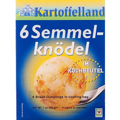 Kartoffelland 6 Bread Dumplings in Bags 7oz