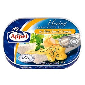 Appel Herring Fillets in Egg- Mustard Creme 7oz