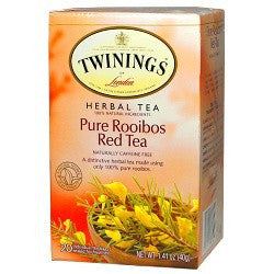 Twinings Bags African Pure Rooibos Red 6/20ct