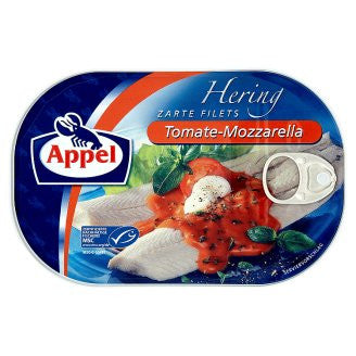 Appel Herring Fillets Tomate- Mozzarella 7oz