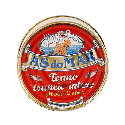 As Do Mar Tuna in olive oil, Round Tin 7oz