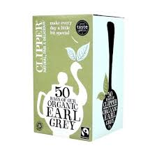Clipper Fair Trade Organic Earl Grey Tea 20ct