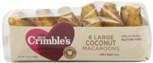 Mrs. Crimbles 6 Large Coconut Macaroons 6.7oz