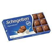 Schogetten Bars, Alpine Milk Chocolate 3.5oz. (Pack of 15)