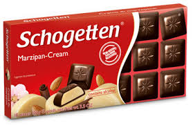 Schogetten Bars, Marzipan Creme 3.5oz. (Pack of 15)