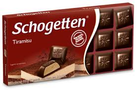 Schogetten Bars, Tiramisu 3.5oz. (Pack of 15)