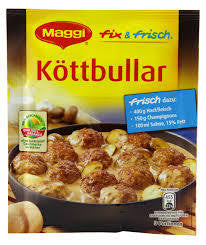 Maggi German Fix Kottbullar (Swedish Meatballs) 45pk