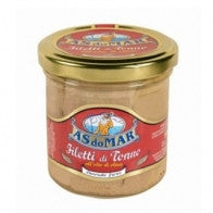 As Do Mar Tuna with Olive Oil Glass Jar 5.2oz