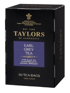 Taylors of H 20ct Bags Decaf Earl Grey