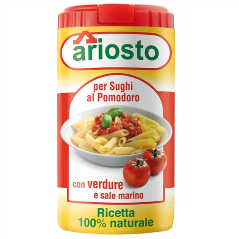 ITALIAN ARIOSTO TOMATO BASED PASTA SAUCE SEASONING, 2.8OZ (80GM), PACK OF 6