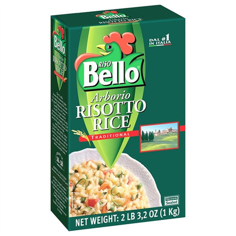ITALIAN ARBORIO RISOTTO RICE LARGE, 12 PER CASE