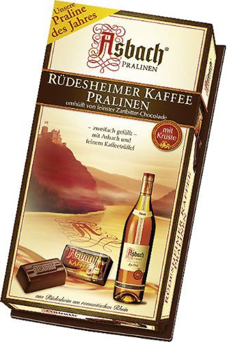 Asbach Pralines with Coffee in Gift Box 8/4.4oz #2140