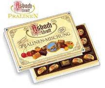 Asbach Assorted Chocolates Large Gift Box 6/8.8oz #2151