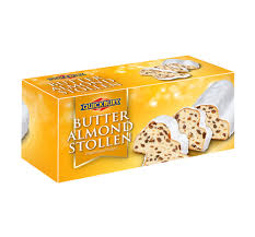 Quickbury, Butter Almond stollen in Box 8/14oz
