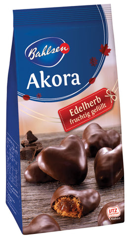 Bahlsen Akora Dk. Choc. Cov'd filled Gingerbread Bags 39/5.35oz NEW