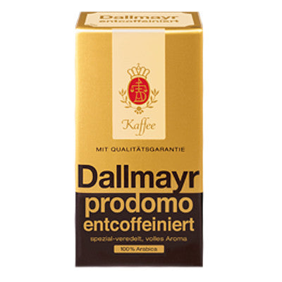 Dallmayr Prodomo Ground Decaf Coffee 8.8 oz
