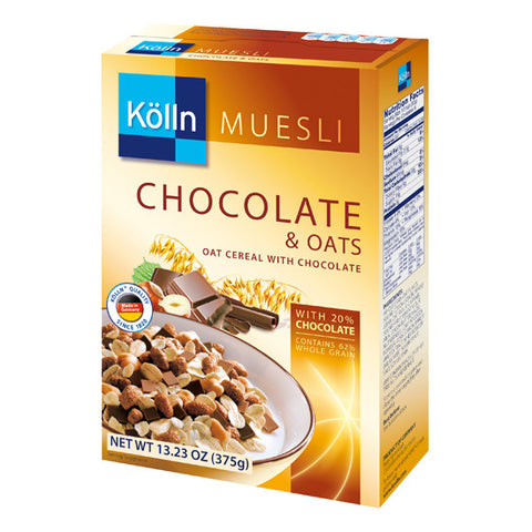 Koelln (Kölln) Chocolate & Oats Muesli 13.23oz