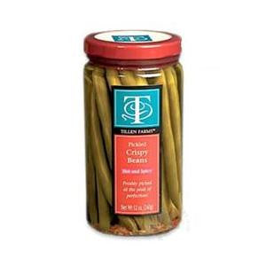 Tillen Farms Beans Hot & Spicy Pickled 12oz
