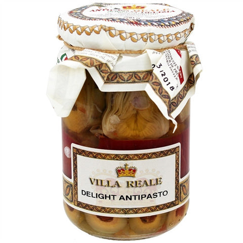 ITALIAN VILLA REALE SICILIAN MIX VEGETABLE ANTIPASTO, 10.22OZ (290GM), PACK OF 6
