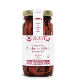 Cantabrian Anchovy Fillets 3.17oz