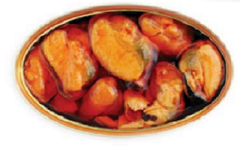 Mussels in Escabeche (Pickled Sauce) 4.00 oz